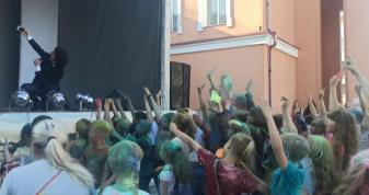 Фестиваль фарб в Острозі