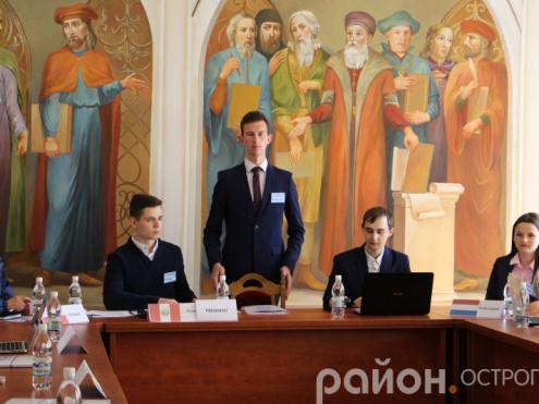 «Всеукраїнська модель ООН» в НаУОА