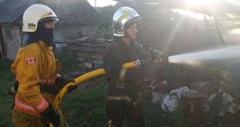 Пожежа у Новомалині