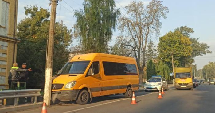 Дорожньо-транспортна пригода в Острозі