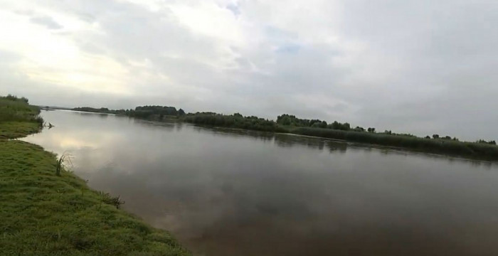 Горинь у Городищі - останньому населеному пункті України