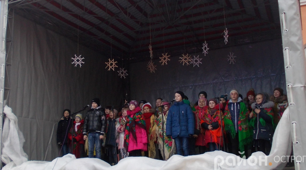 Виступ вихованців Острозької дитячої школи мистецтв