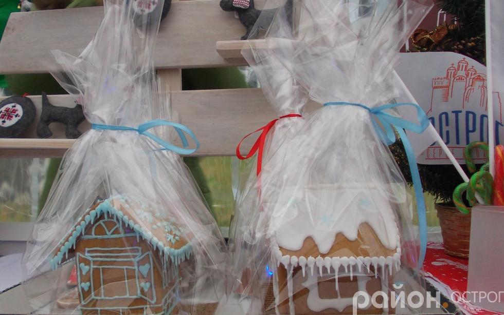 Оригінальні солодощі на святковому ярмарку