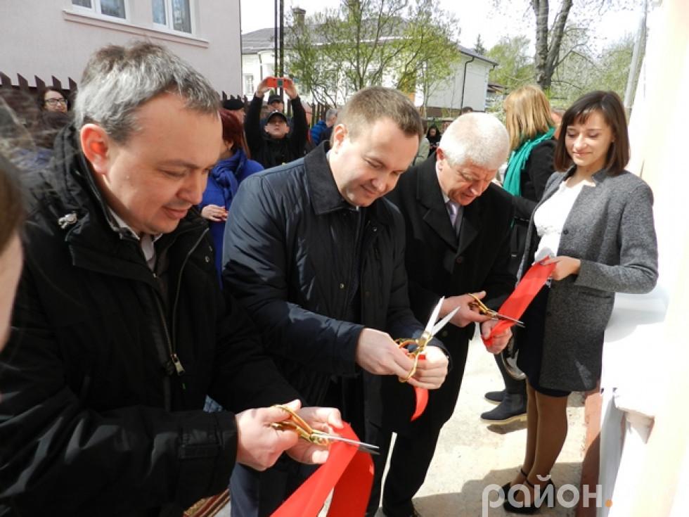 Керівництво міста та області відкривають перший в області ТІЦ