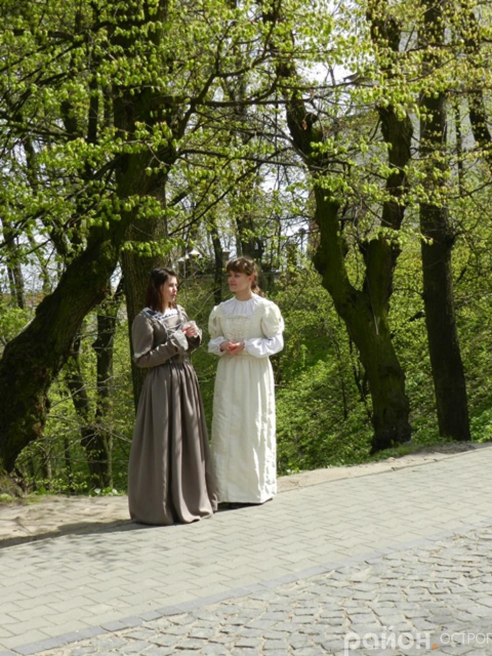 Театралізована екскурсія на Замковій горі