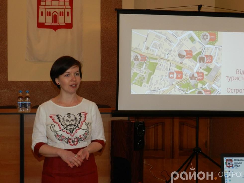 Олеся Гощук презентує відкриття туристичного сезону