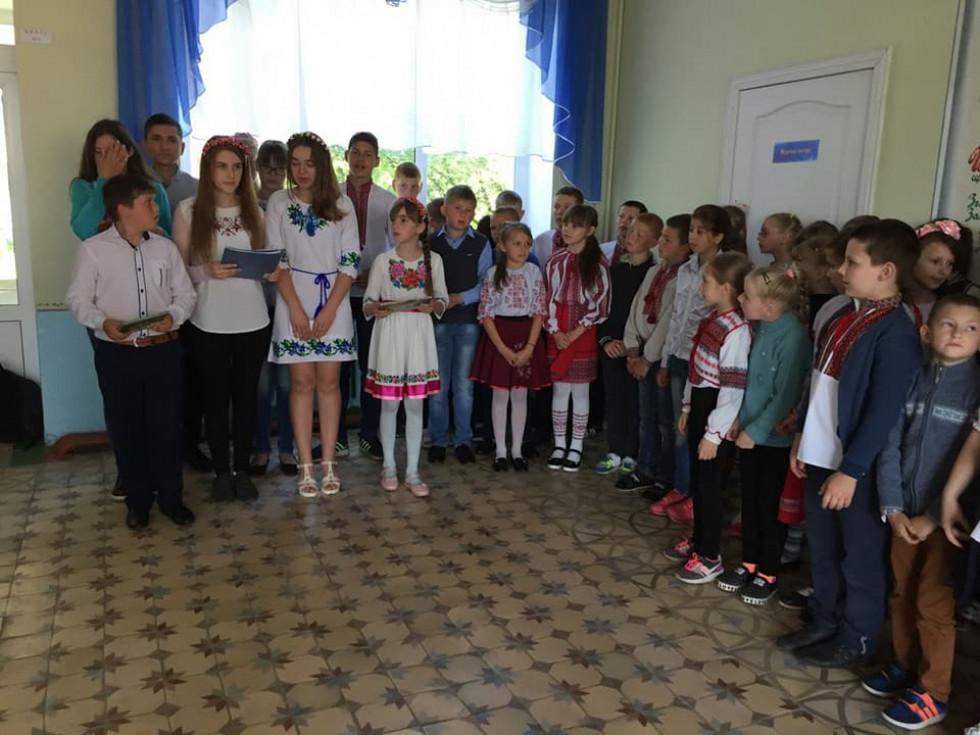 Білашівська школа-садок долучились до святкування