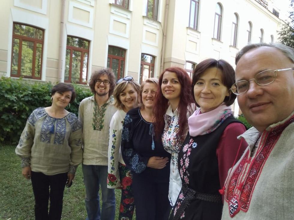 Традиційно в День вишиванки в музеї Острозької академії