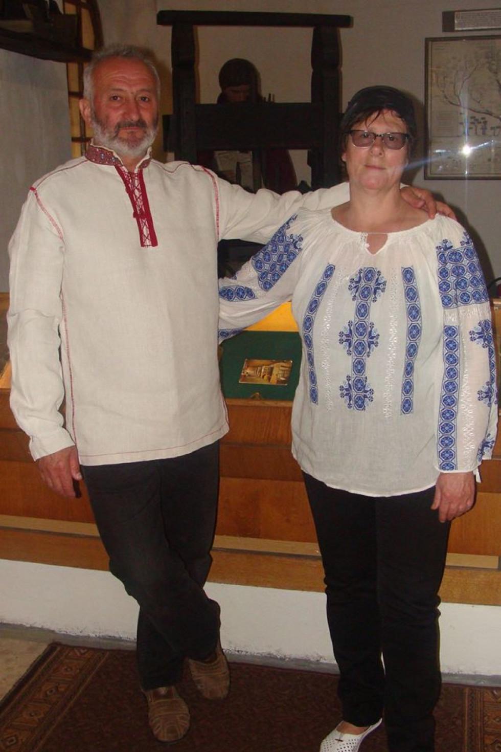 Національний одяг прибрали працівники Музею книги і книгодрукування