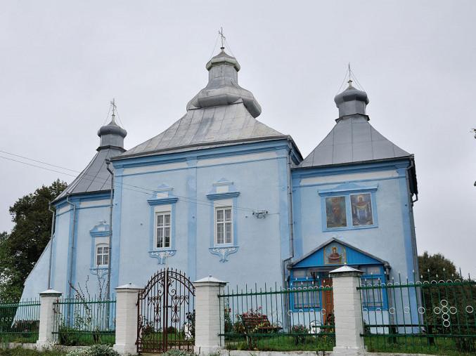 Покровська церква у селі Країв