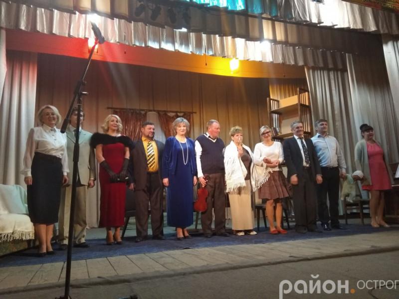 Фрагмент «Дивна місіс Севідж» на «Палітрі театральної осені» 2018 р.