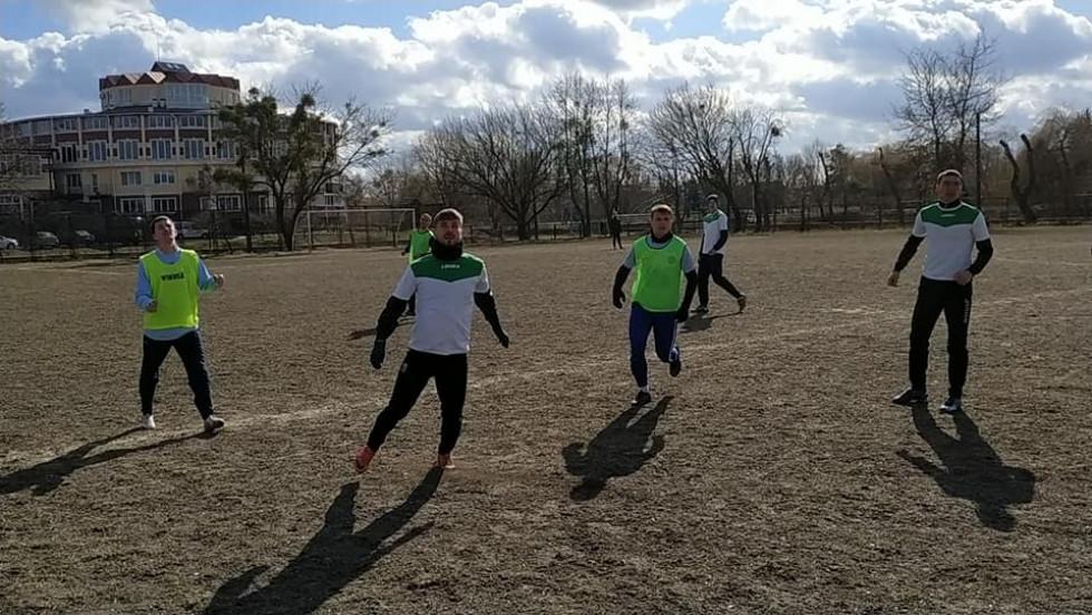 Миттєвості матчу за  участю ФК «Вельбівно» (фото РОФФ).
