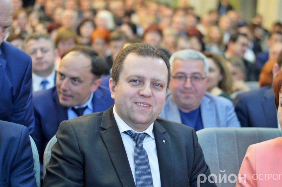 Віталій Ундір під час Ради регіонального розвитку Рівненщини під головуванням Петра Порошенка