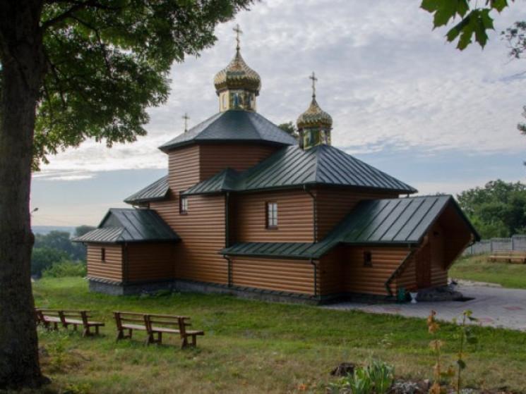 Церква у селі Розваж