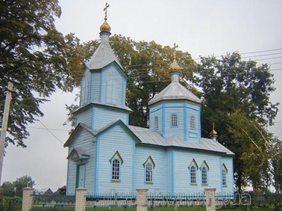 Храм села Стадники