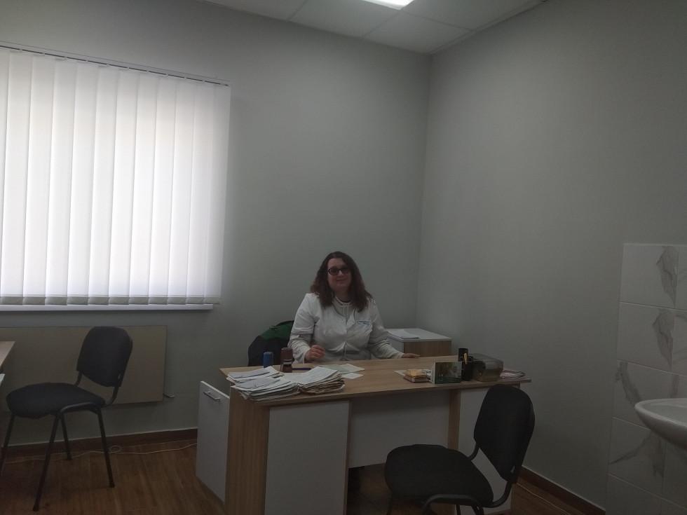 Робочий кабінет лікаря в Плосківській амбулаторії