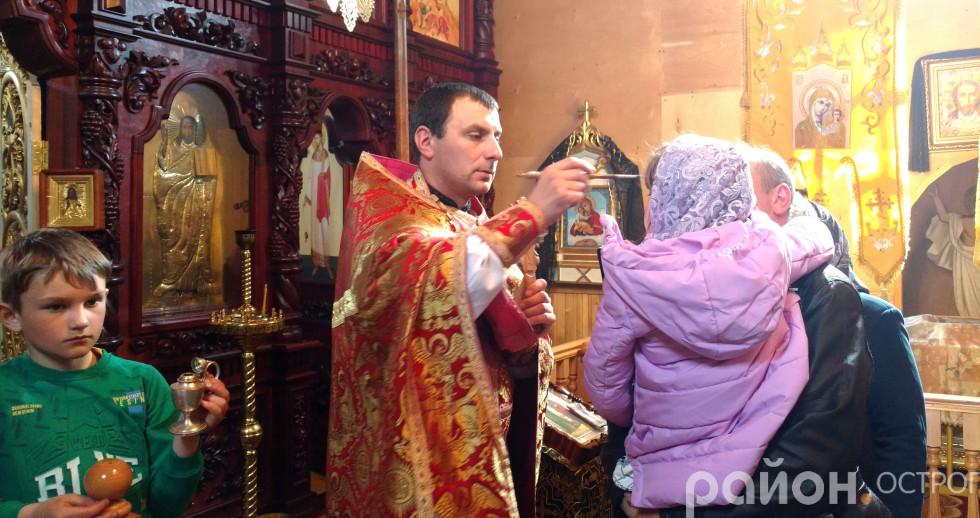До храму прийшло чимало молоді та дітей