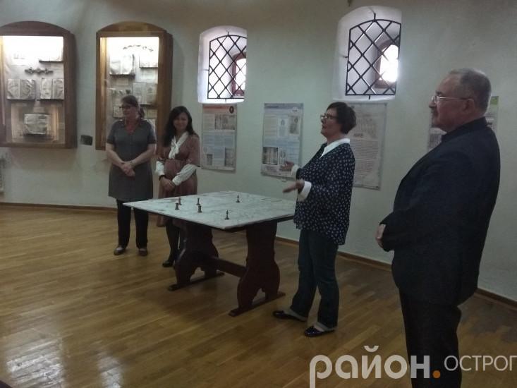 Відкриття виставки в Острозі
