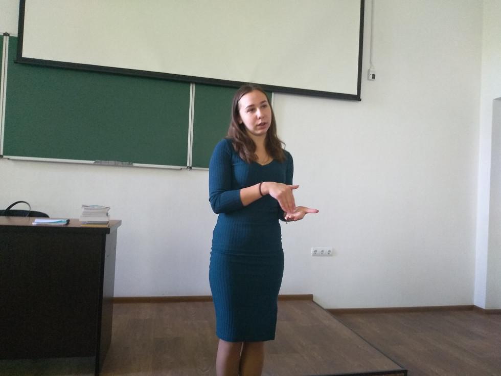 Іванна Горбач розповідає про вступну кампанію