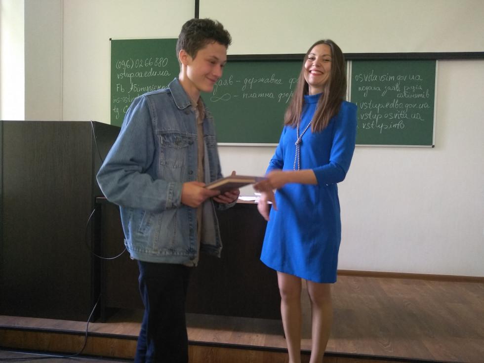 Тарас Хурсяк - переможець творчого конкурсу