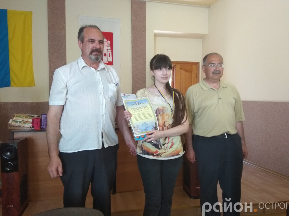 Переможниця Катерина Кравчук