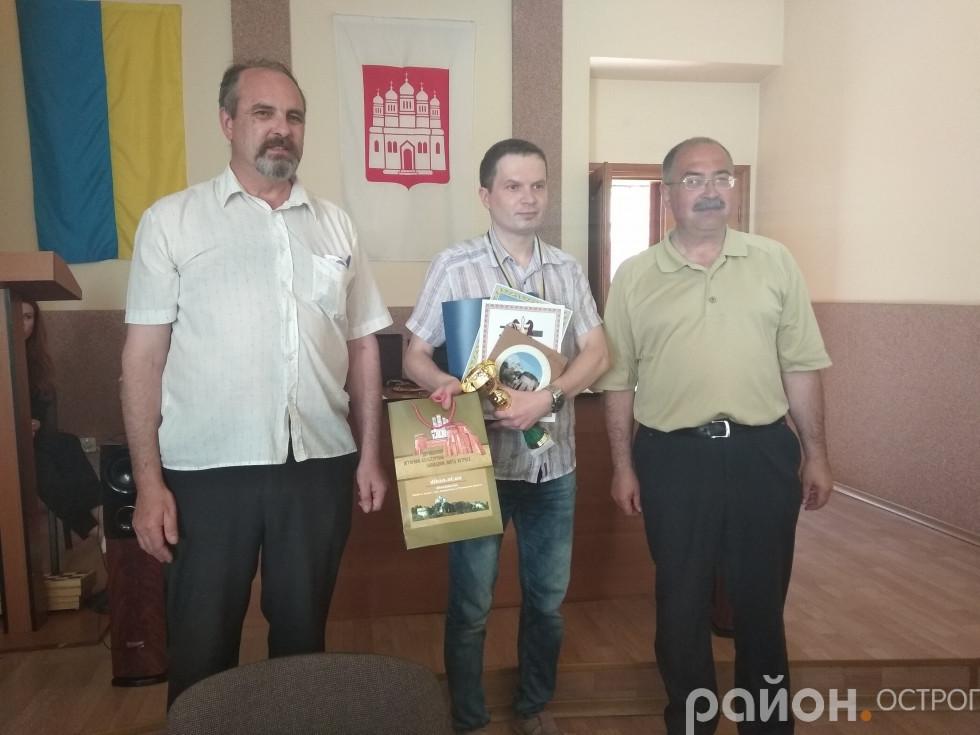 Переможець турніру Валентин Шаранський