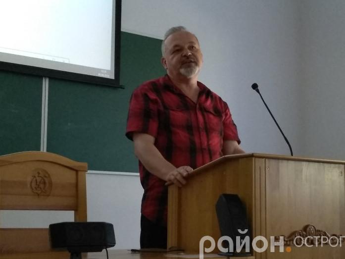 Олександр Денисенко в Острозькій академії