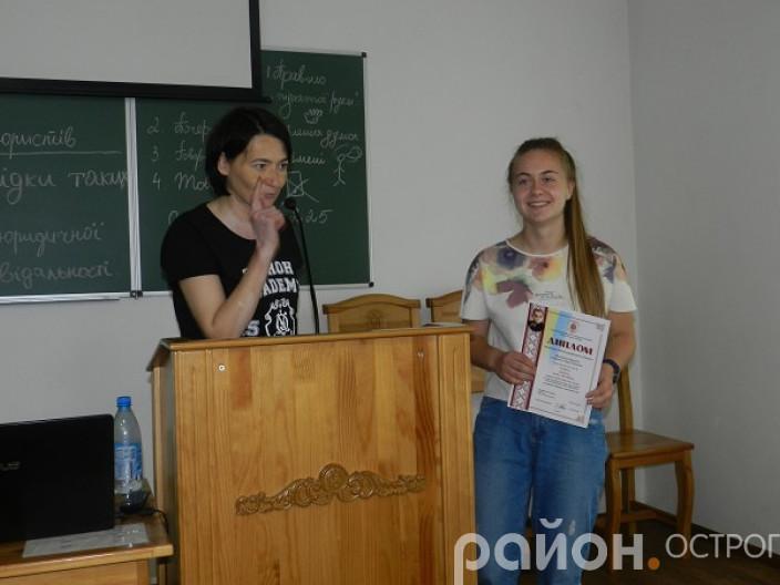 Нагороду отримує Анна Шокун із Херсонщини