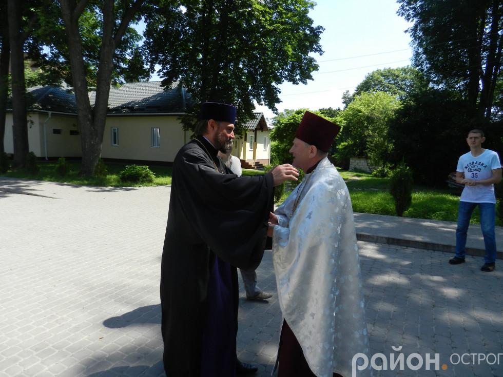 Зустріч митрополита Олександра
