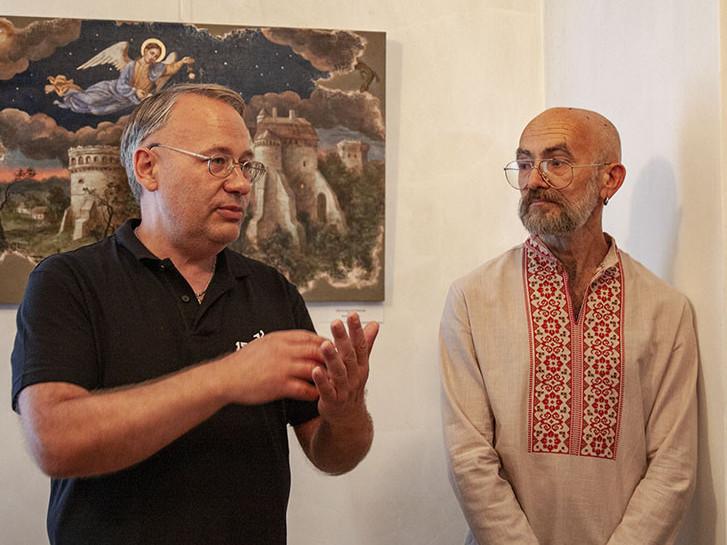 Микола Бендюк і Юрій Нікітін
