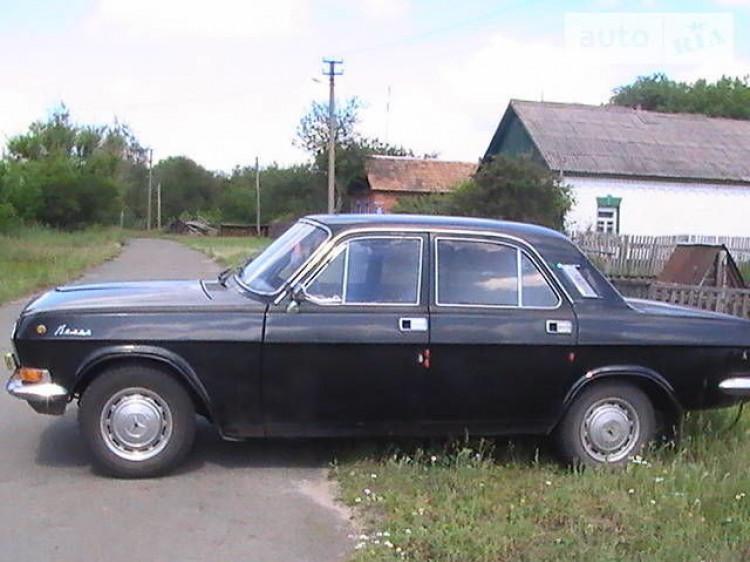 Авто «ГАЗ-24». Фото ілюстративне