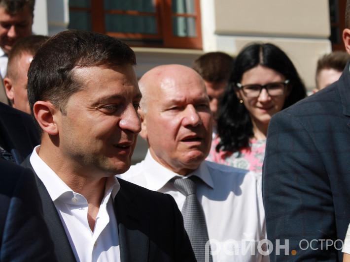 Володимир Зеленський в Острозькій академії