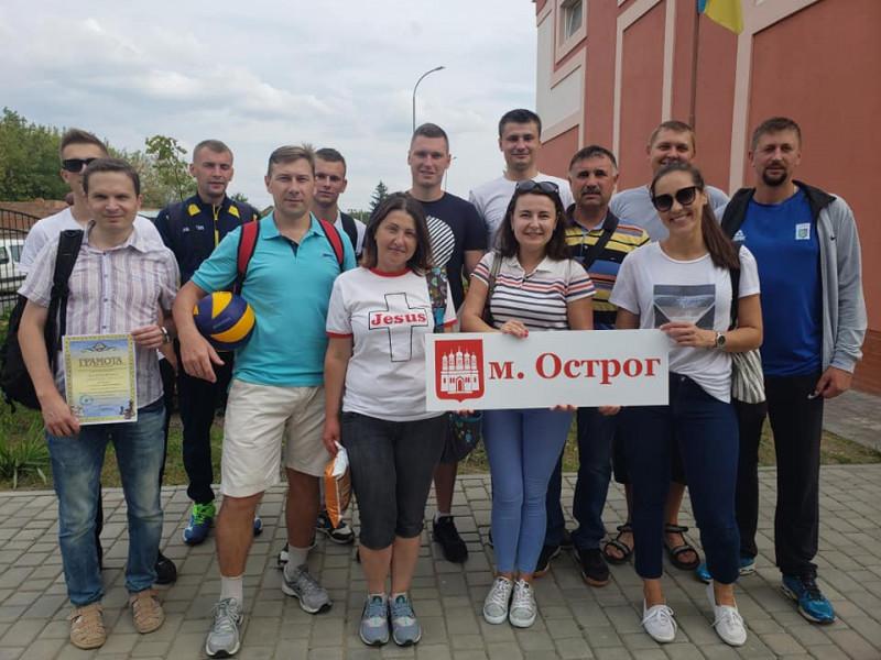 Спортсмени, які представляли Острозьку ОТГ