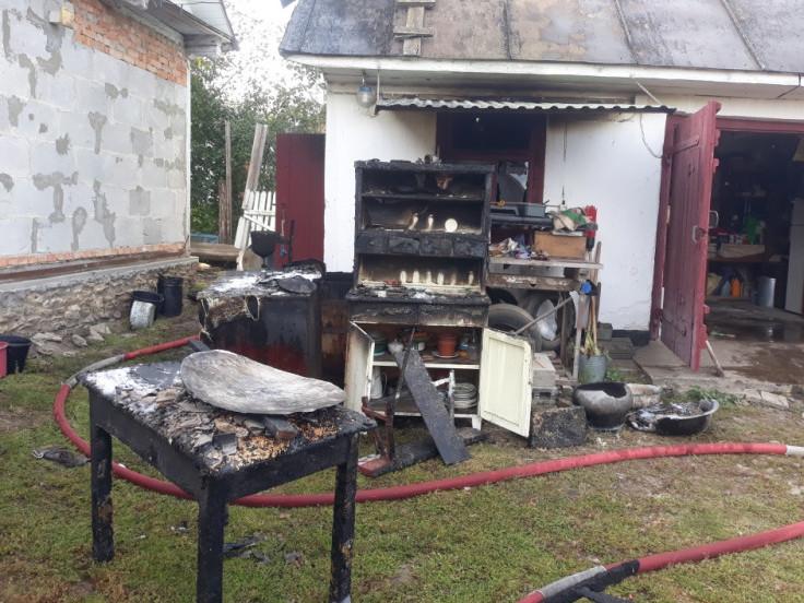 Вогонь знищив речі домашнього вжитку