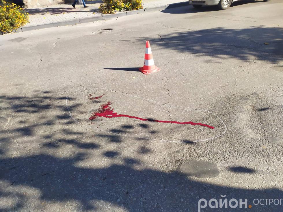 У ДТП постраждала жінка-пішохід