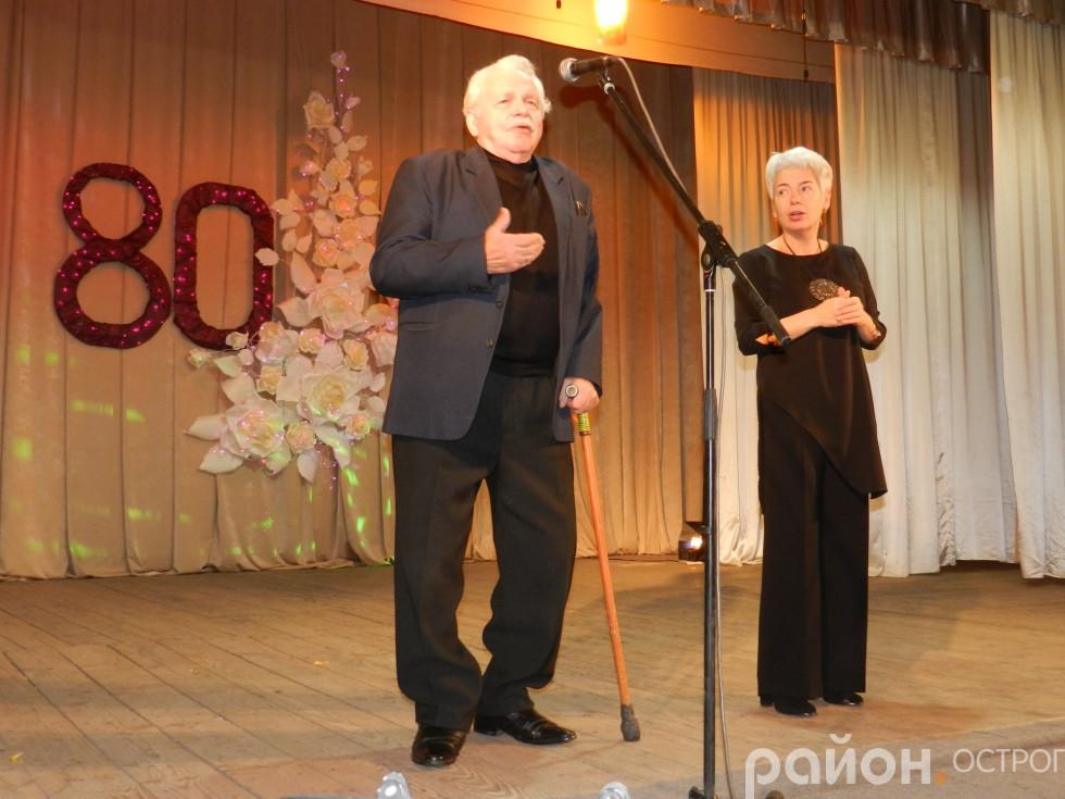 Багаторічний директор школи Володимир Озимковський