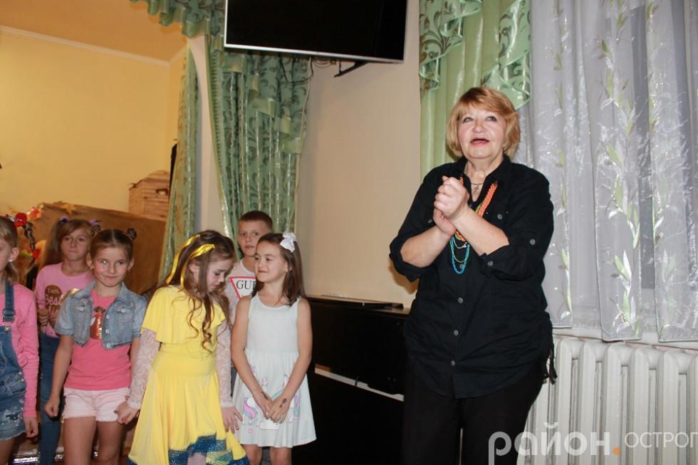 Наставниця юних театралів Зоя Систалюк