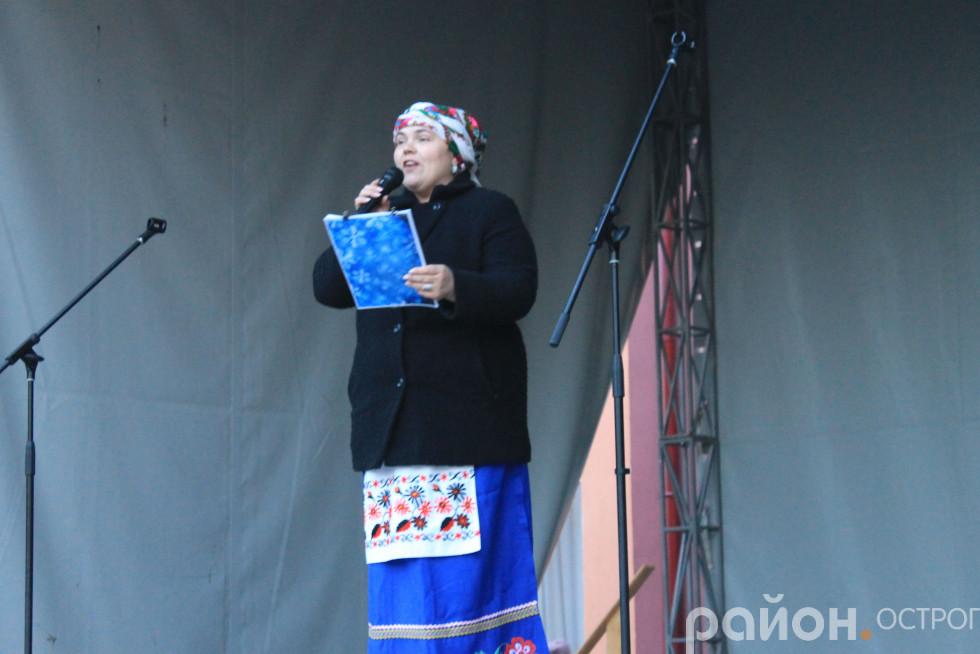 Казкарка Галина Скрипковська