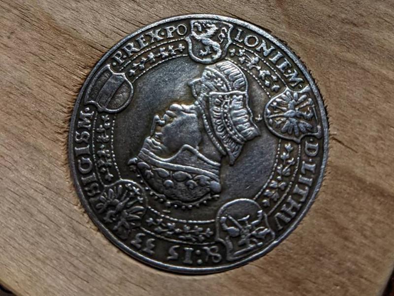 Фотокопія талера Сигізмунда І 1533 року