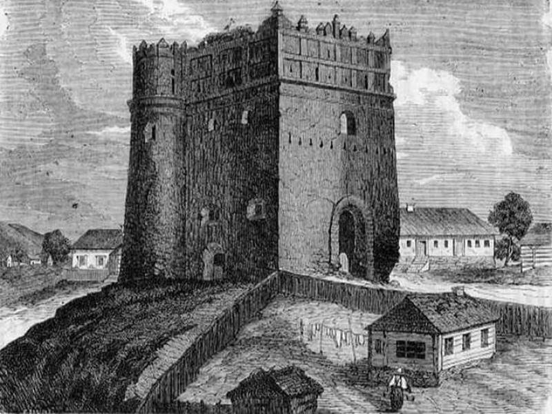 Луцька вежа в Острозі