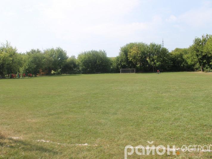 Місце матчу - стадіон у Хорові