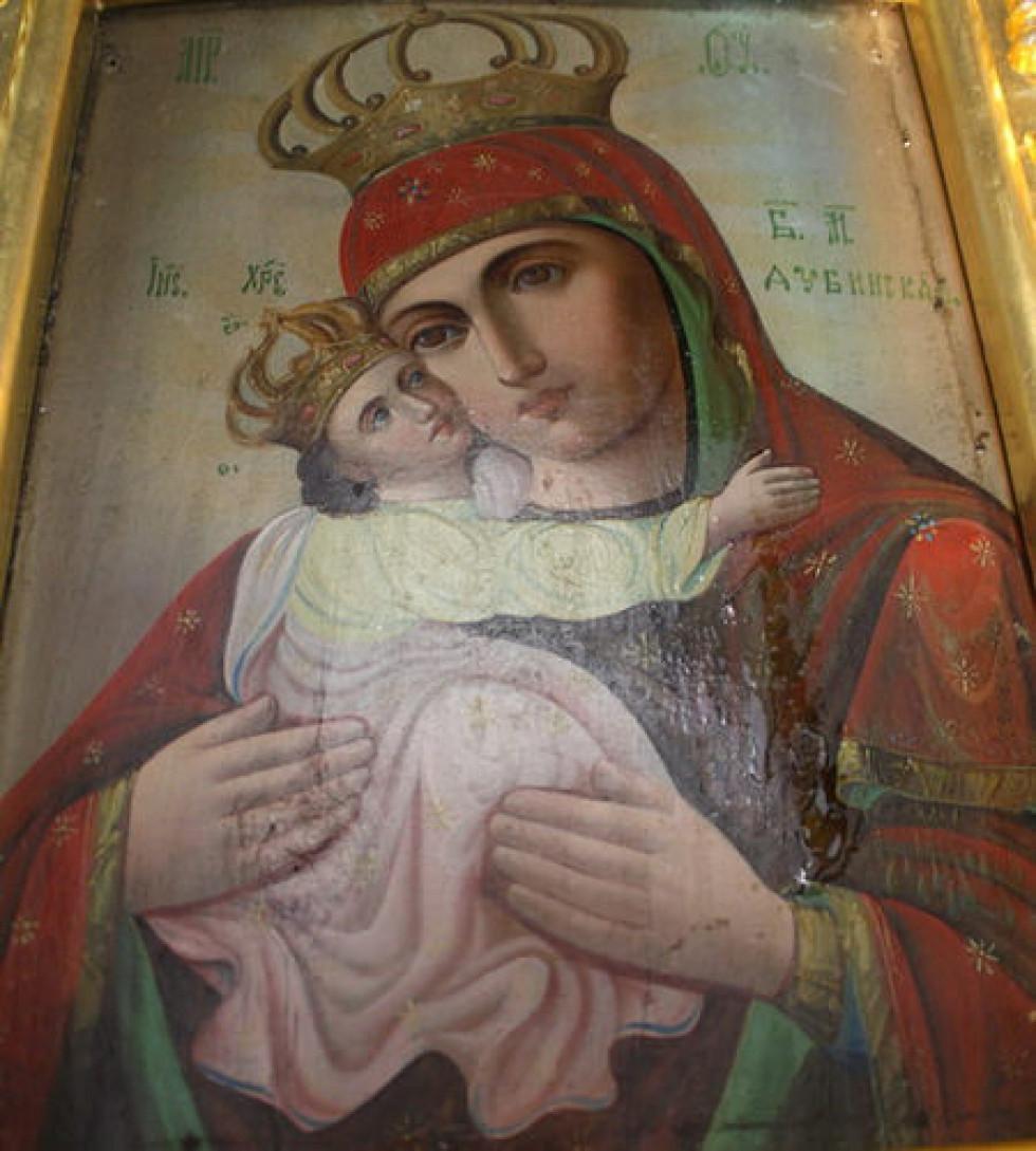 Одна з копій Дубенської Богоматері