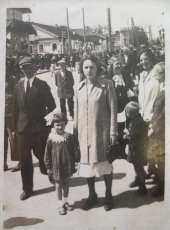 вул.Дубенська (Проспект Незалежності) 1938 рік