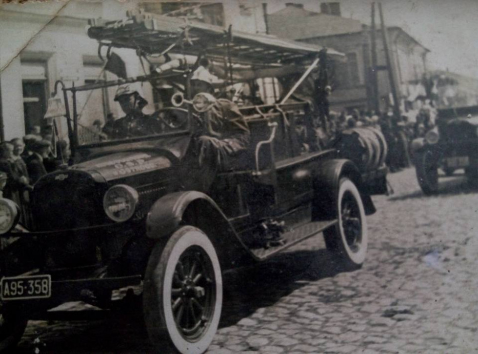 11 листопад 1938 м.Острог пожежний автомобіль