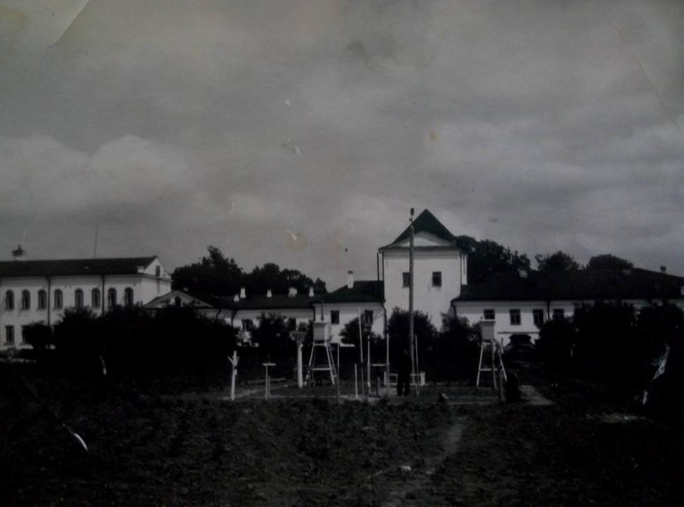 Метеорологічна станція Острозького педучилища (Острозька академія) 1953