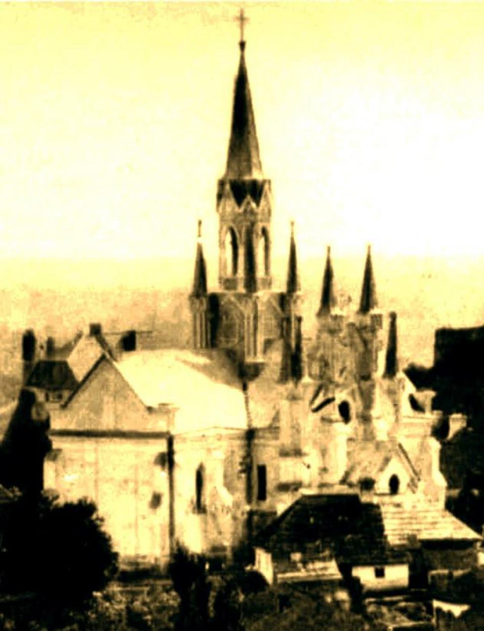 Готичний костел, друга половина 1870-х років