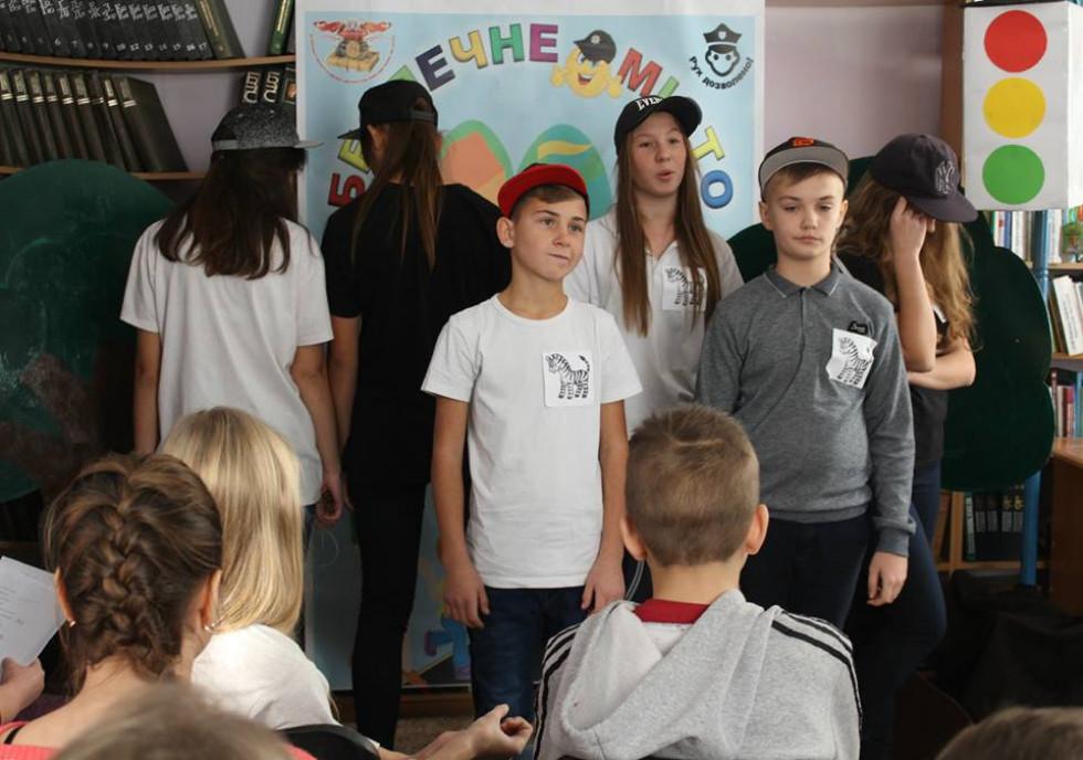 збірна найкращих читачів Острожчини «Зебренята»