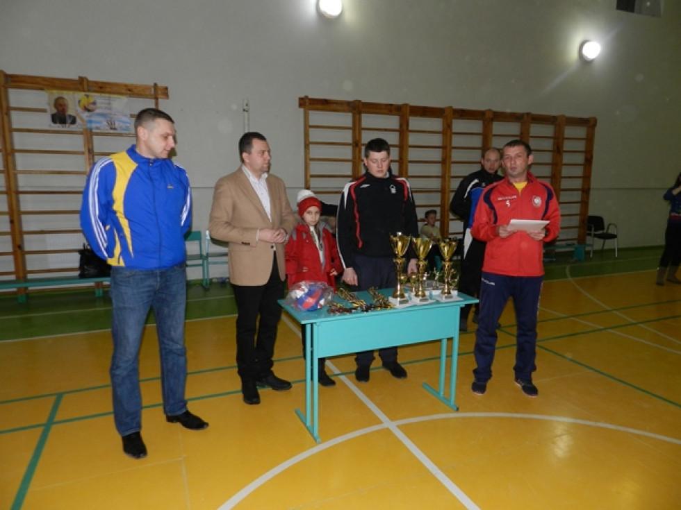 Нагородження переможців турніру пам'яті Петра Білюка