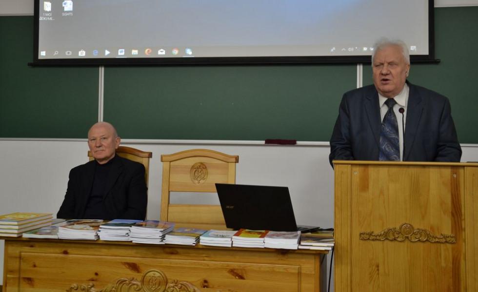Сергій Рачинець в Острозькій академії