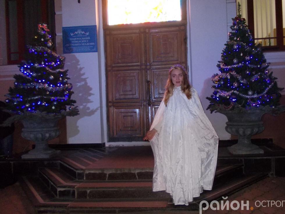 Ангел завітав на свято